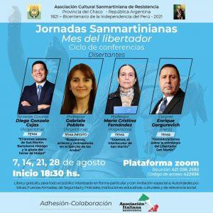Lee más sobre el artículo Jornadas Sanmartinianas-Mes del Libertador
